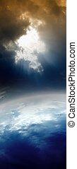 planète, résumé, espace