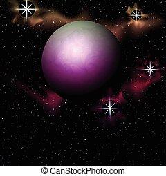 planétaire, astromomie, fond