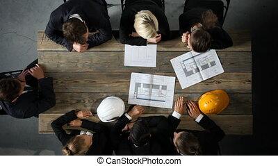 plan, construction, professionnels