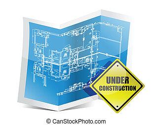 plan, construction, sous