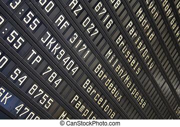 planche, aéroport