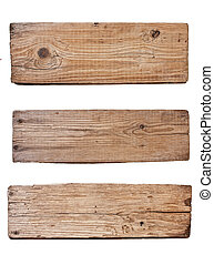 planche, fond, bois, isolé, vieux, blanc