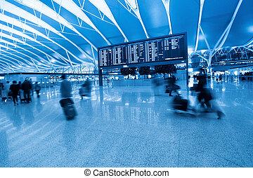 planche, information, vol passager, aéroport