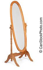 plancher, miroir