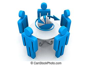 planification, concept, business