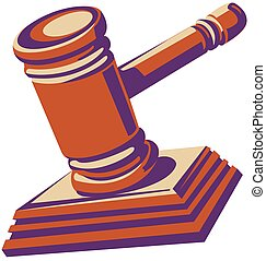 plaque., tribunal, juges, hammerwith, marteau, ou