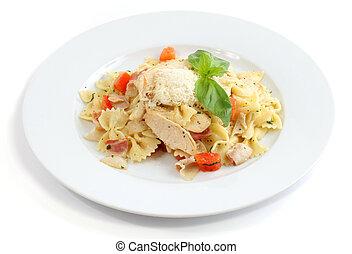 plat, italien