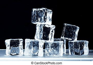 plateau, glace