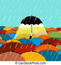 pleuvoir, saison