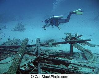 plongeur, profond