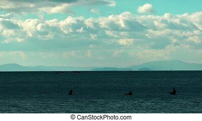 plongeurs, mer
