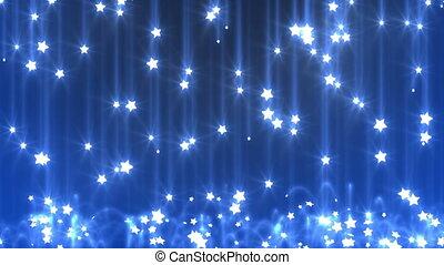 pluie, étoile