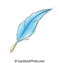plume, doux