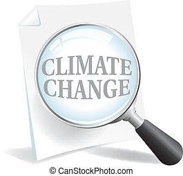 plus proche, climat, regard, prendre, global, changement, chauffage