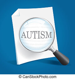 plus proche, prendre, regard, autism