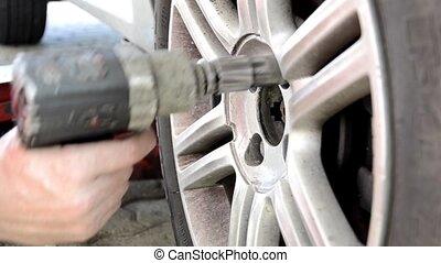 pneus, changer