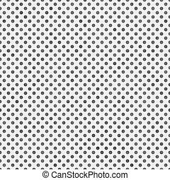 points, gris, voyante, modèle, polka, reprise, fond, petit, blanc