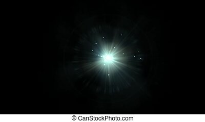 points, laser, rayons, universe., &