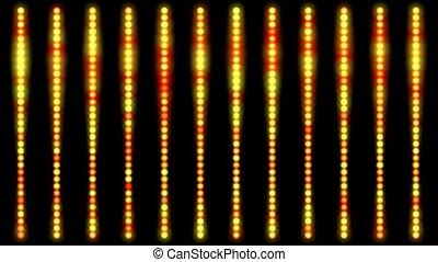 points, résumé, haut, fond, ligne, lumière, fait