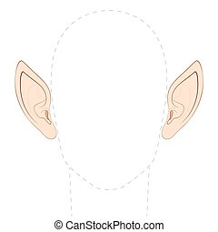 pointu, oreilles