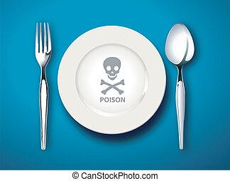 poison, nourriture