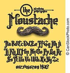 police, moustache