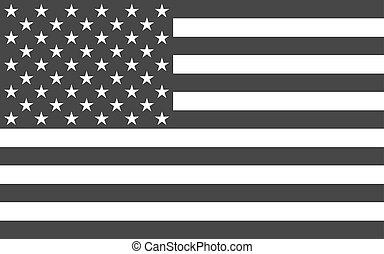 politique, américain, national, officiel, drapeau