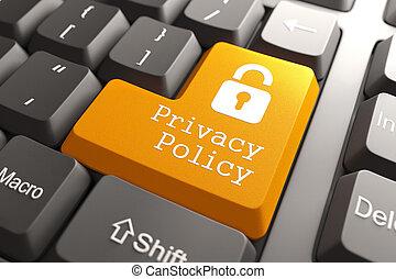 politique, clavier, button., intimité