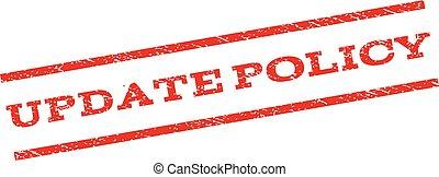 politique, timbre, mise jour, watermark