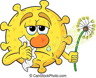 pollen, fièvre foin