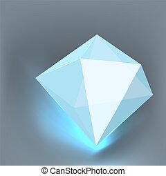 polygone, vector.