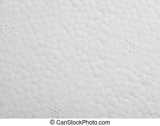 polystyrène, texture