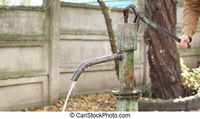 pompe eau, manuel