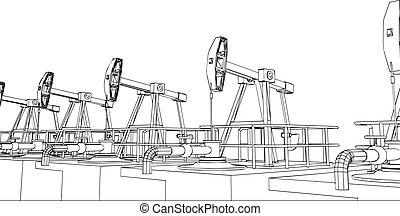 pompe, huile, fonctionnement