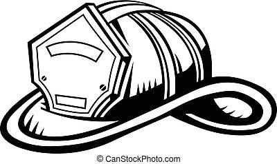 pompier, casque
