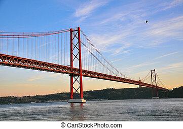 pont, 25e, avril