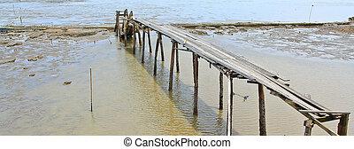 pont bois, sea.