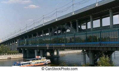 pont, métro