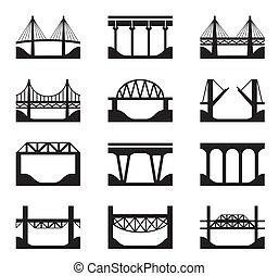 ponts, divers, types