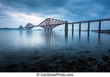 ponts, forth, ecosse, edimbourg