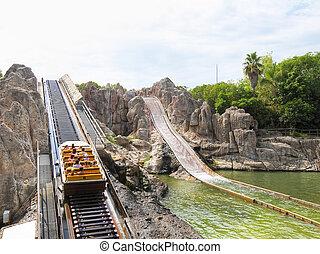 port-aventura, parc, divertissement
