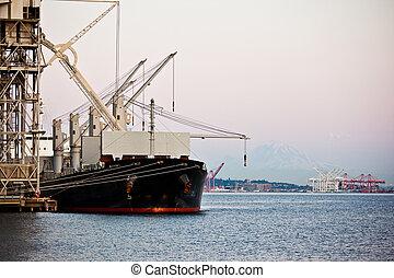 port, expédition