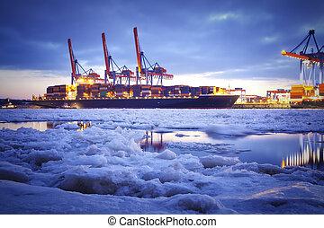 port, hiver