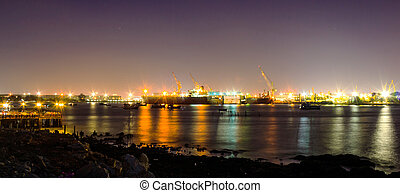 port, industrie, transport