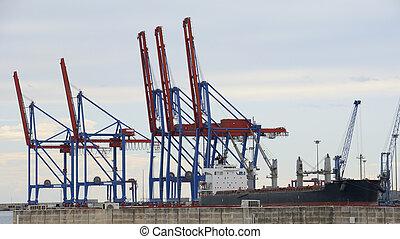 port, malaga