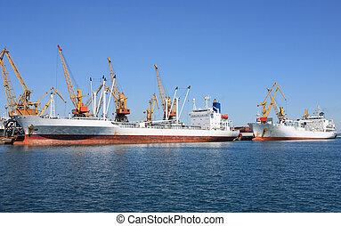 port maritime, commerce
