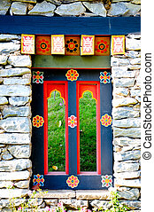 portail, corée, tradition