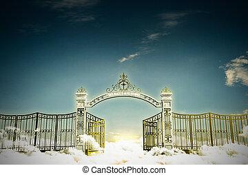 portail, refuge