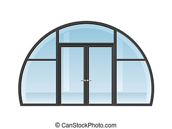 porte, fenêtre voûtée