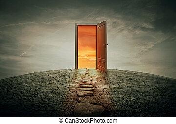 porte, teleportation